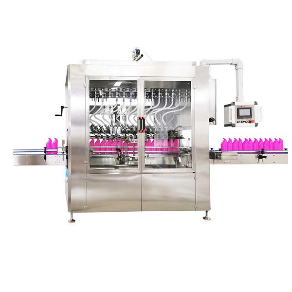 Machine de remplissage de liquide de bouteille à col incliné par gravité