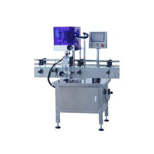 Machine de capsulage de bouteilles automatique à 4 roues