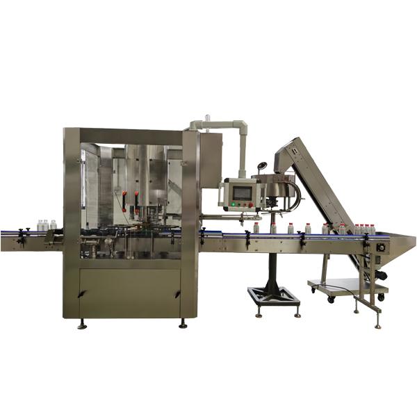 Machine de capsulage rotative automatique à 6 têtes