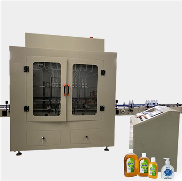 Anti machine de remplissage liquide de décapant de toilette de bouteille de viscosité corrosive automatique