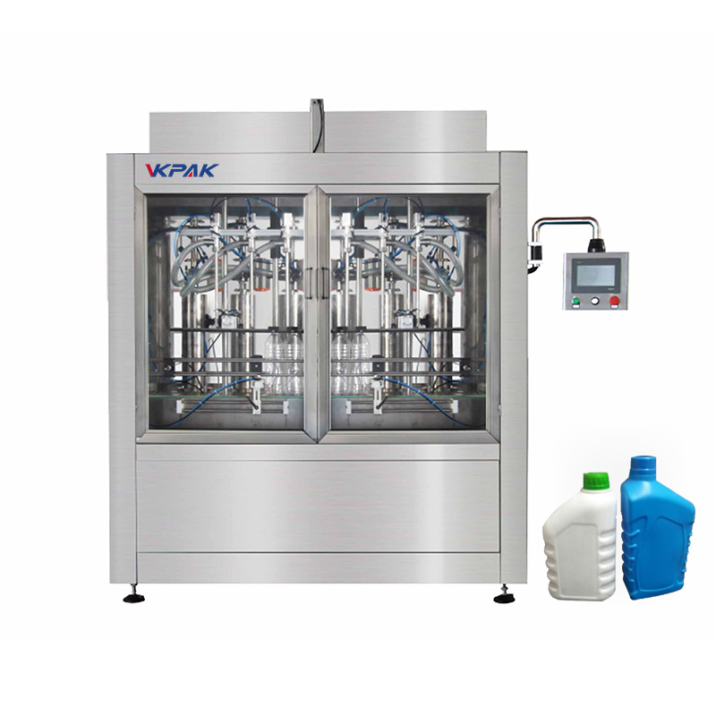 Machine de remplissage automatique de bouteilles et de liquides