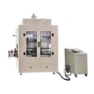 Machine de remplissage de liquide corrosif de type linéaire
