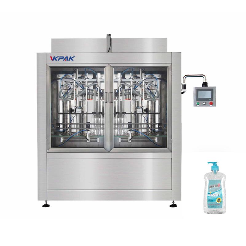 Machine de remplissage automatique de piston de désinfectant