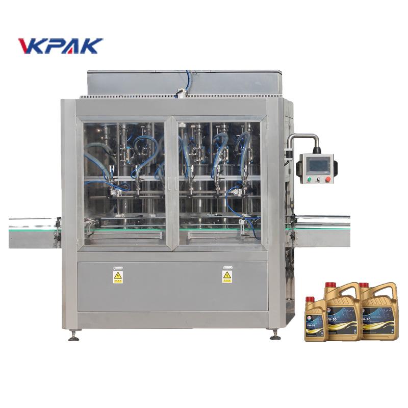Machine de remplissage d'huile de lubrification linéaire automatique