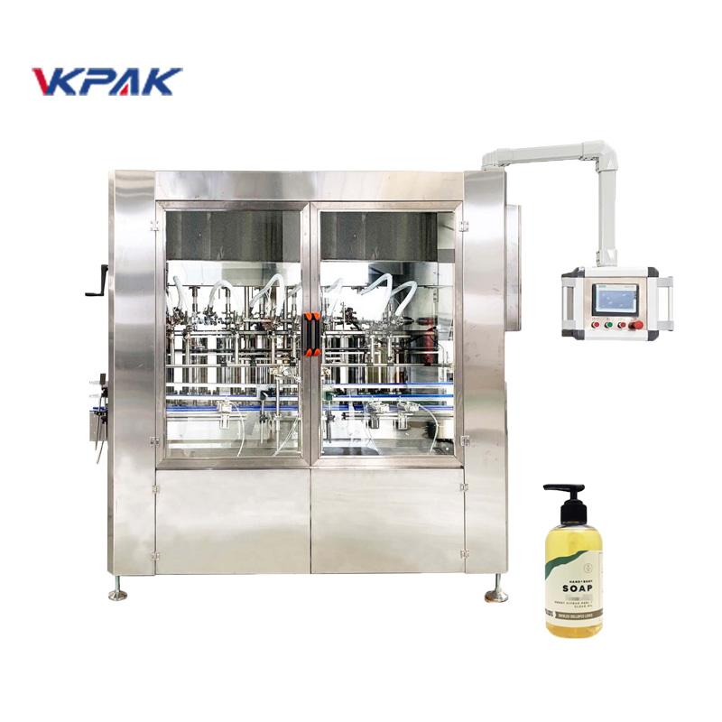 Machine de remplissage de savon liquide à servomoteur linéaire automatique