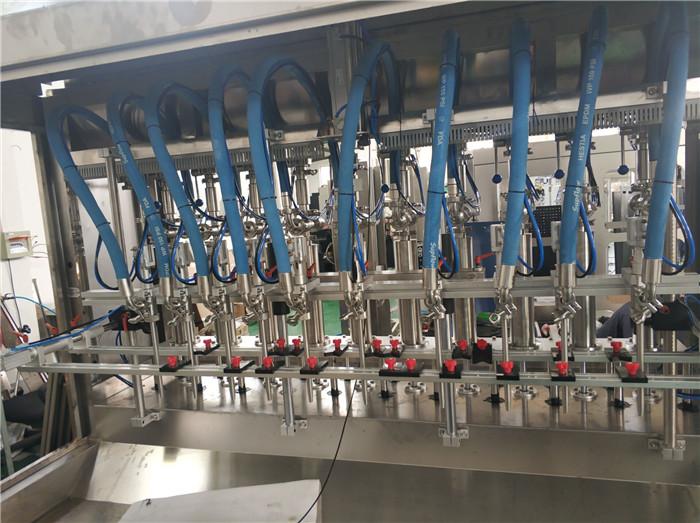 Équipement d'embouteillage remplissant d'huile végétale de tournesol de bouteille automatique d'animal familier