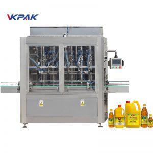 Machine de remplissage de liquide à piston automatique