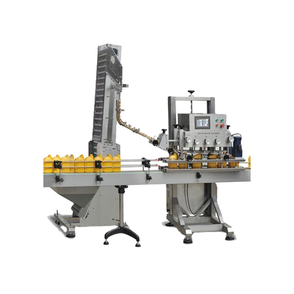 Machine de capsulage de vis de broche automatique