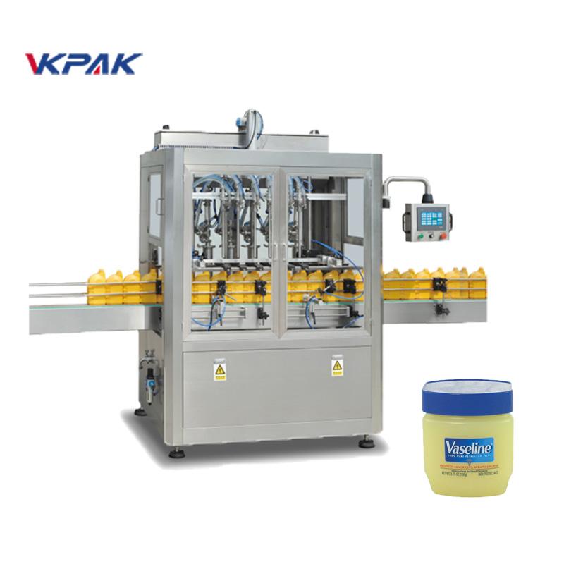 Ligne de remplissage et de refroidissement automatique de vaseline