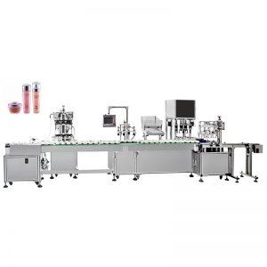 Machine de remplissage et de capsulage automatique d'émulsion d'eau