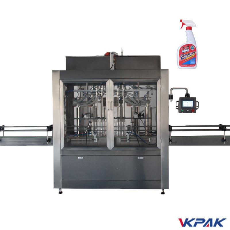Machine de remplissage de nettoyant liquide