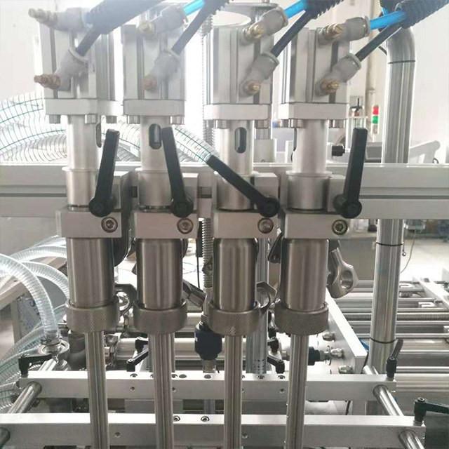 Détails de la machine de remplissage à piston 28